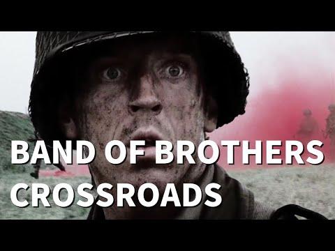 Easy Company - Band of Brothers - Crossroads Battle Walkthrough!