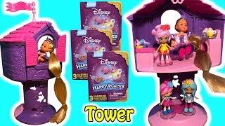 Evi Love Rapunzel Tower With Rapunzel Doll + Disney Happy Places Lil' Shoppies & Surprise Blind Bags