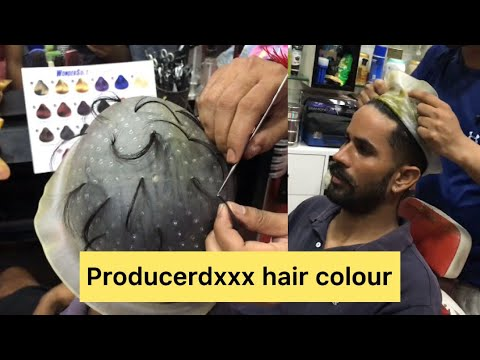 Producerdxxx hair colour green