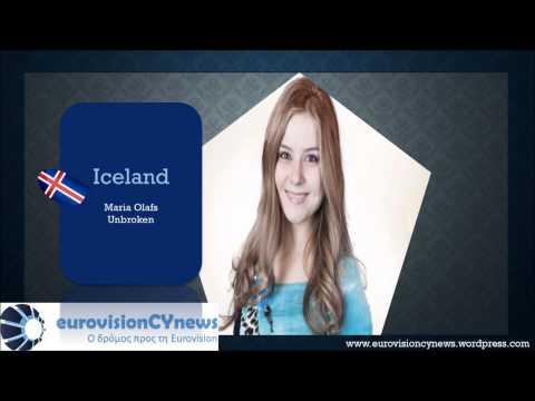 Eurovision Song Contest 2015 (Iceland) Maria Olafs - Unbroken
