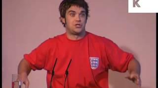Robbie Williams Solo Press Conference 1996