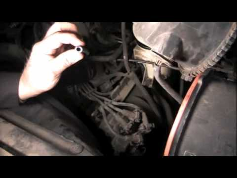 How to test a coil on the vehicle