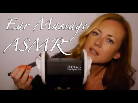 ~§~ Binaural ASMR Ear Massage & Ear Brushing ~§~