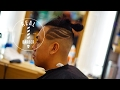 Barber Tutorial Hair Tattoo With Skin Fade Asian Man Hairstyle mp3