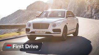 2016  Bentley Bentayga first drive review