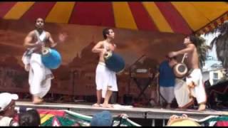 Mayapuris - Mrdanga Drum Presentation at LA Rathayatra