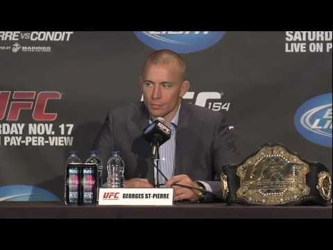 UFC 154 Press Announcement