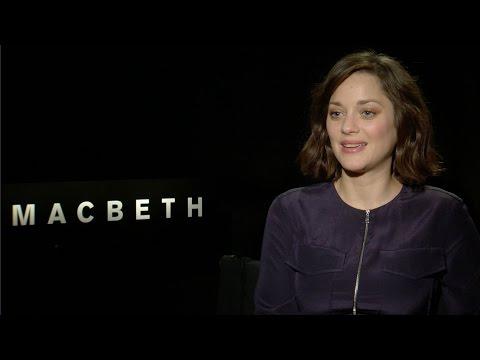 Marion Cotillard Talks 'Macbeth' and the 'Assassin's Creed' Movie