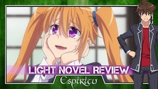 High School DxD Volume 18 - Funny Angel of the Christmas Day - Light Novel Review