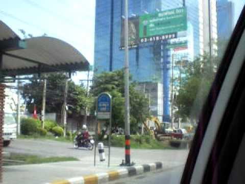 Taxi fahrt in Bangkok-3