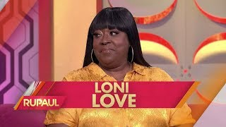 Loni Love and Matt Iseman Stop by 'RuPaul'