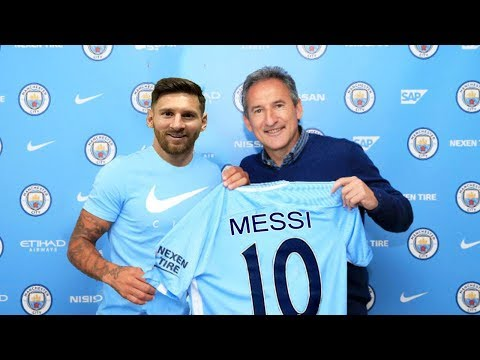 LIONEL MESSI GO TO MAN CITY € 250M?  ● Most Expensive Transfers 2017