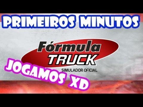 Primeiros Minutos do F?rmula Truck Simulador Oficial