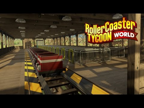 Roller Coaster Tycoon World News | Wooden Coaster Screenshots! (Production Blog #15)
