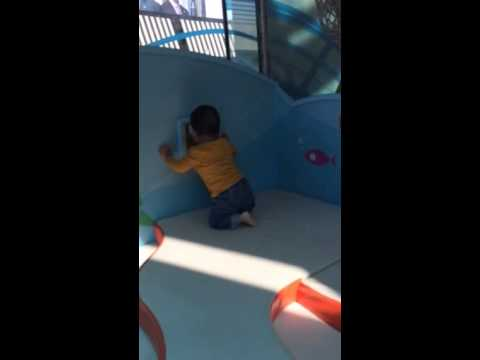 Oliver at Santa Monica place indoor playground part 1