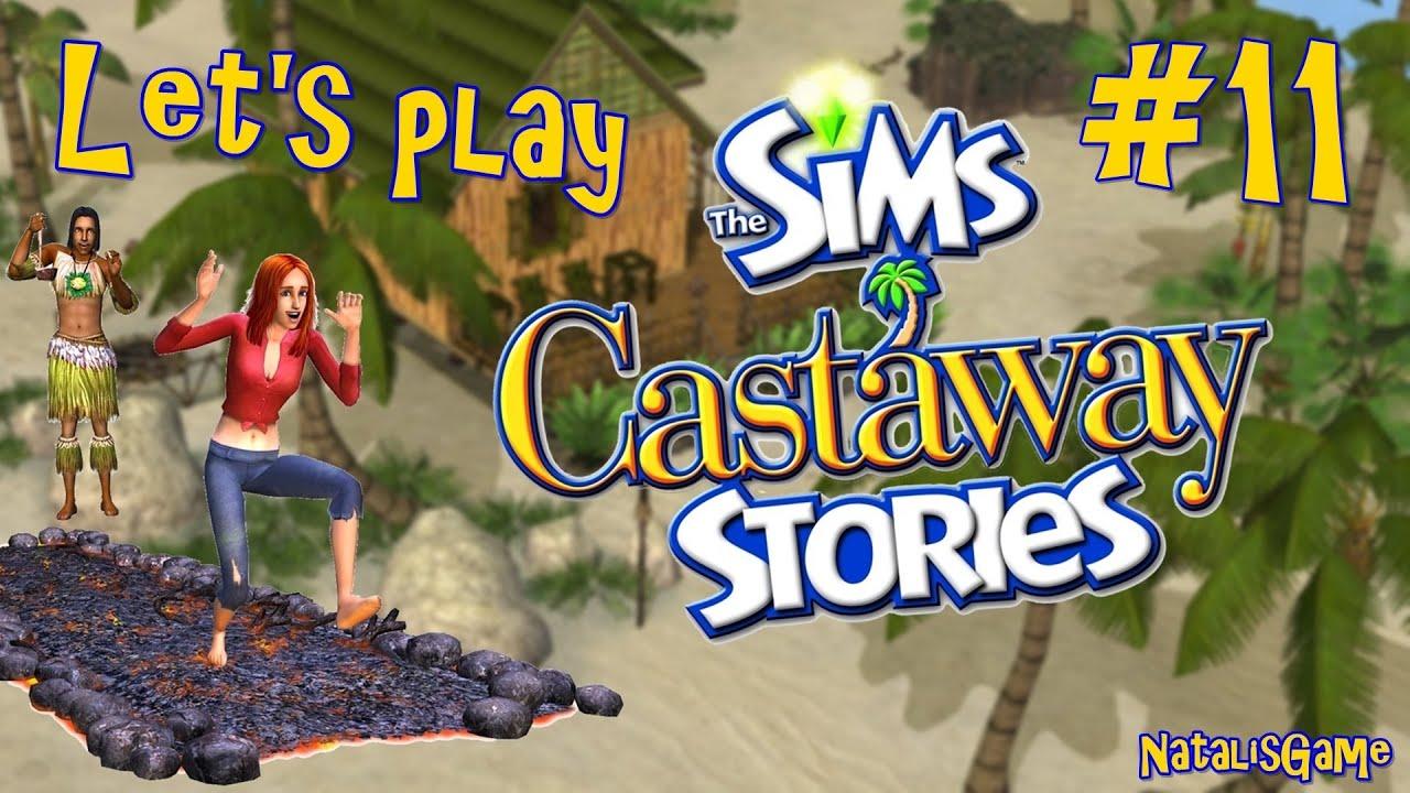 Let's play The sims Истории робинзонов / #11 Страшная болезнь