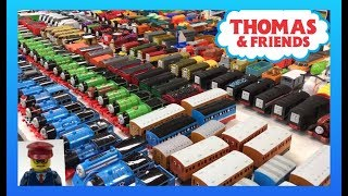 Tomy Trackmaster Thomas & Friends Train Collection and more! #ttfc