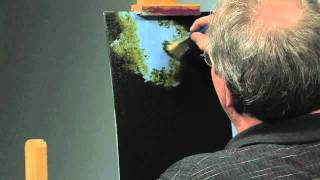Paint-Along: How to Paint a Waterfall in Oils, Part 1