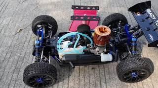 Break in Engine RC Car Buggy HSP Camper 1/8