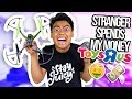 Letting A Stranger Spend My Money at Toys R Us!
