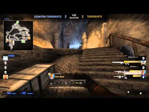 CS: GOldenblackhawk and Koots (Competitive; Castle) [Full Game]