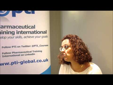 Pharmaceutical Training International Interview of a Delegate
