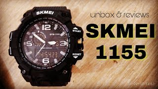 SKMEI 1155 Unboxing and Review INDONESIA