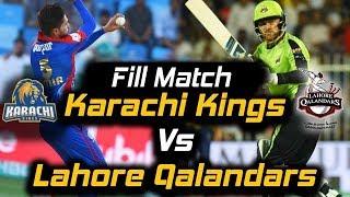 Live: Karachi Kings vs Lahore Qalandars I Match 08 | HBL PSL 2018
