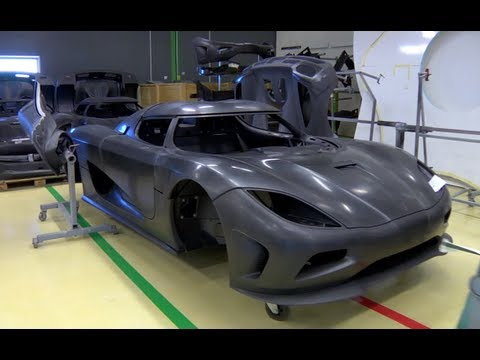 Carbon Fiber Construction – Inside Koenigsegg