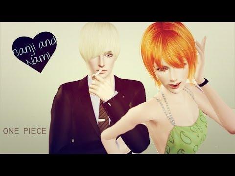 Create A Sim [sanji And Nami] - Sims 3  One Piece video