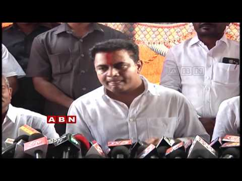 Minister KTR Press Meet at Vemulawada | Counters Amith Shah | Telangana |  ABN Telugu