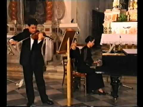 N. Paganini: Moses Fantasy - Gabor Szabo Violin ( Variations on G -string)