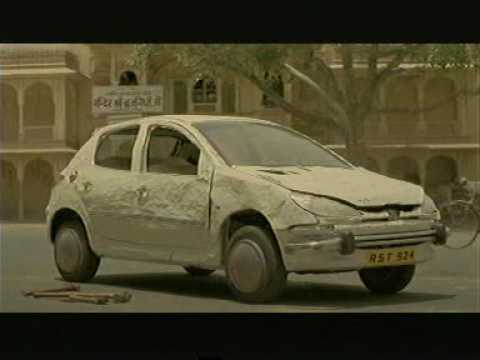Peugeot 206 commercial - India