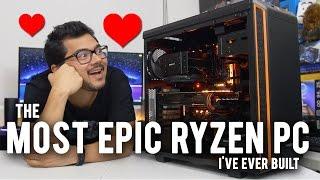 INSANELY Fast Ryzen PC!! 1800X + GTX 1080 Ti