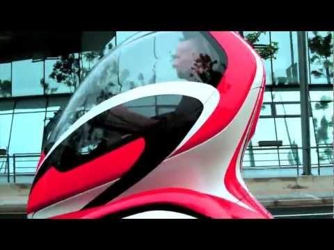 Evolution of GM's EN-V urban electric vehicle concepts (Chevy En-V)