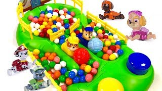 Best Learning  Colors Video for Children Paw Patrol Chase Rubble Gumball Race | Fizzy Fun Toys