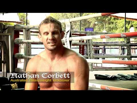 Nathan Corbett Training At Fairtex Muay Thai Camp Image 1