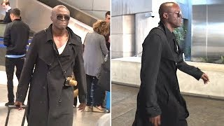 Seal Asked About Harvey Weinstein Saga After Landing At LAX