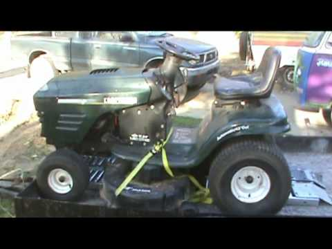Craftsman Mower Repair-part 1