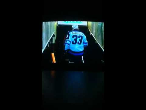 Winnipeg Jets vs San Jose Sharks 10/11/2014 part 4