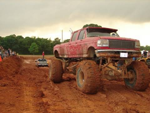 4x4 Ford Trucks Mudding Huge Ford Diesel Mud Truck
