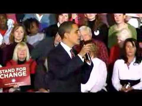 Barack Obama | Believe - Iowa Caucus D Day -1