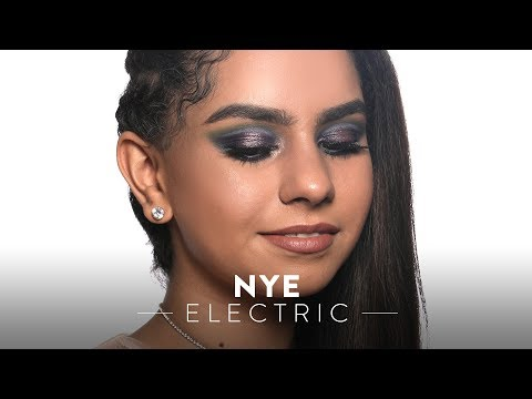 New Year's Eve Party Makeup Tutorial | NYE Electric look | MyGlamm