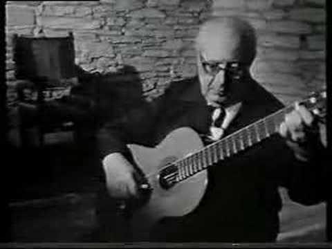 Andres Segovia - Contemplacion - Moreno-Torroba
