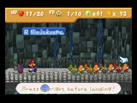 Paper Mario (BLIND) playthrough part 16: Boss 2: Koopa Bros