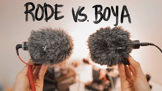 BOYA by-MM1 VS Rode VideoMicro (which is better?)