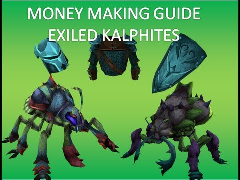 [Runescape] Money making guide- Combat exp Guide- Exiled kalphites