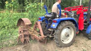 Potato harvest with foton 254 - part2