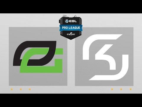 CS:GO - OpTic vs. SK [Cbble] Map 1 - ESL Pro League Season 4 - NA Matchday 26