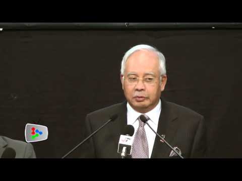 Flight MH370 ended in southern Indian Ocean, says Najib